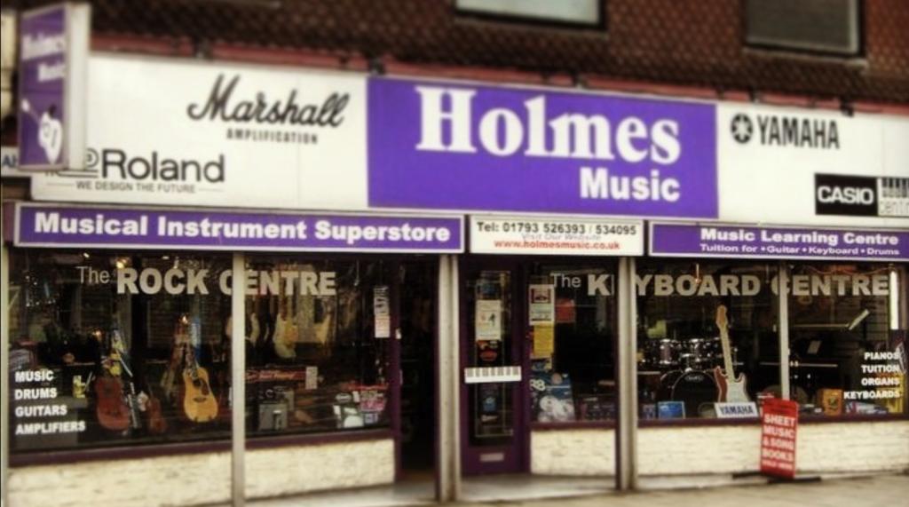 holmes music in swindon